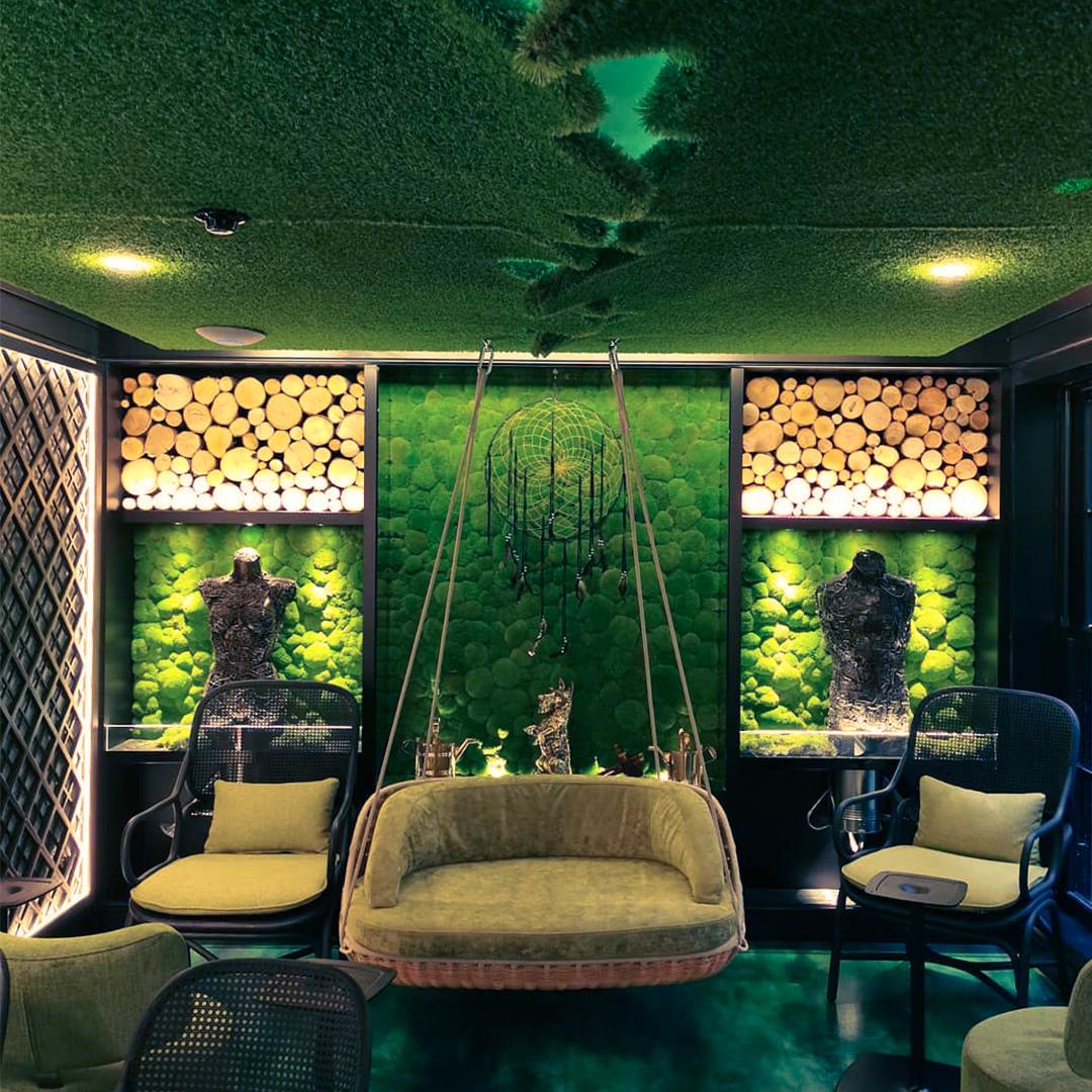 Lush Green Soft Furnishings